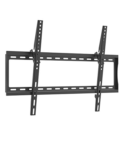 GForce Tilt TV Wall Mount for Most 37' - 70' Inch LED, LCD and Plasma TVs - VESA Compatible - 30Kg/66LBS Weight Capacity - Black