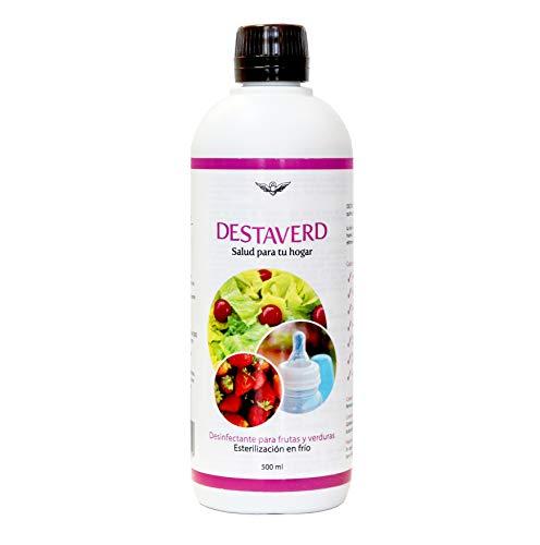 DESTAVERD Desinfectante Frutas y Verduras SIN LEJÍA y Ester