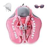 HECCEI Upgrade Baby Float for Infant Waist Swimming Ring Swim Trainer Life Vest Non-Inflatable Floats Toys with Adjustable Safety Strap (Flamingo)