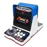 WISAMIC Real Pandora's Box 6 Arcade Machine - Écran 1080P 10,1 Pouces, Jeux supplémentaires, Jeux 3D Pris en Charge, Classification des Jeux, Assistance pour PC PS3, 2 Joueurs, Aucun Jeu Compris