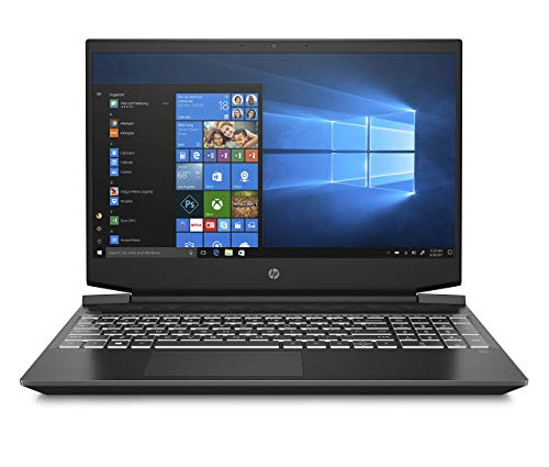 "HP - Gaming Pavilion 15-ec1000sl Notebook, AMD Ryzen 7 4800H, RAM 8 GB, SSD 512 GB, NVIDIA GeForce GTX 1650Ti 4 GB, Windows 10 Home, Display 15.6"" FHD IPS Antiriflesso, audio Bang & Olufsen, Nero"
