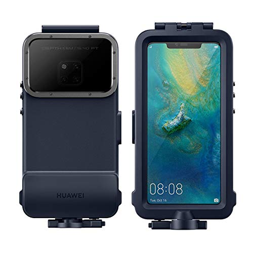 Huawei Snorkeling Cover 51992776 Custodia Waterproof Per Mate 20 Pro blu