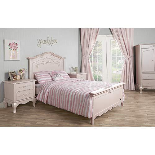 Product Image 7: Evolur Aurora 5-in-1 Convertible Crib, Blush Pink Pearl