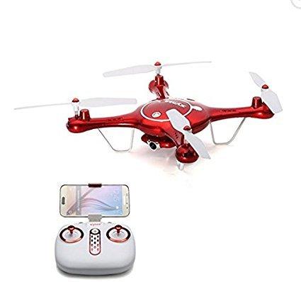 Goolsky X5UW Wifi FPV Drone con una batteria supplementare, 720p HD camera & barometro & Imposta...