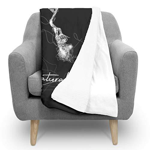 HXshqian Dean Winchester e Sam Winchester, coperta leggera e resistente, reversibile per letto o...