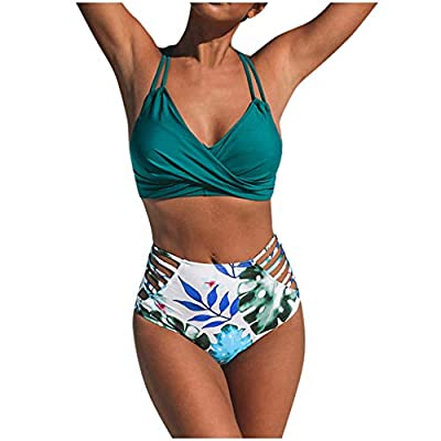 🎄🎄Gender:Women/Girl 💝 Selection of good material, breathable lightweight comfortable Perfect bikini to wear while you tan at the beach swimming pool or go for a vacation-------thong bikini bottoms for women black bikini top black bikini top padded bi...