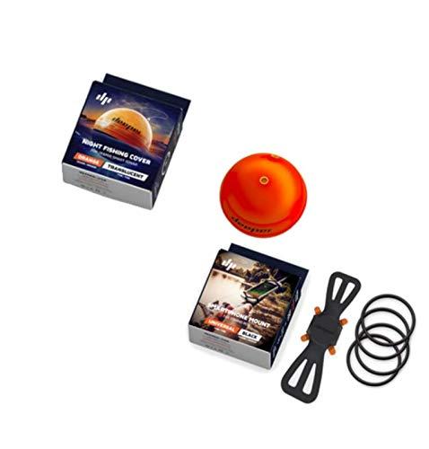 Deeper Smart Sonar Pro+ Plus Set Night Fishing Cover e supporto per smartphone