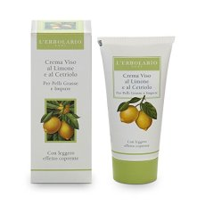 L'Erbolario, crema viso al limone e al cetriolo per pelle grassa