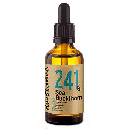 Naissance Aceite Natural de Espino Amarillo 30ml - 100% puro, vegano y no OGM