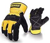 DeWalt Rigger General Purpose Glove - Black/Yellow, Large,size 10
