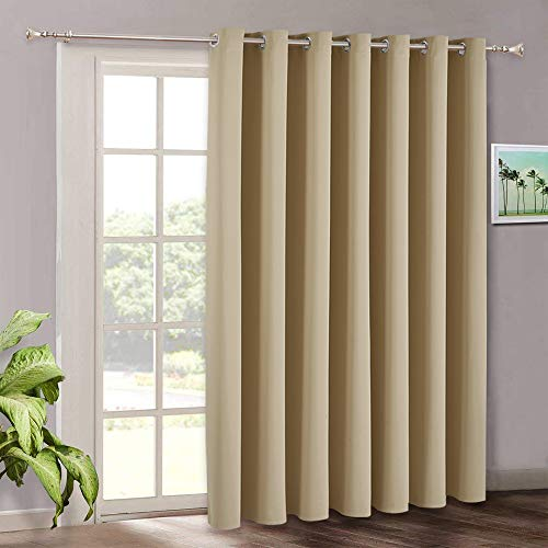 RYB HOME Room Darkening Curtains - Long Window Curtains for Bedroom...