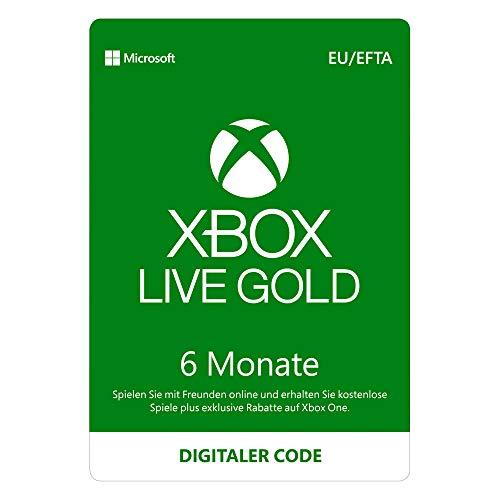 Xbox Live Gold Mitgliedschaft | 6 Monate | Xbox Live Download Code