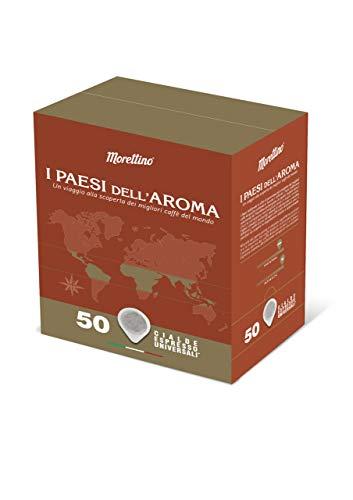 Caffè Morettino Cialde Espresso Ese I Paesi dell'Aroma, 375g