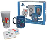 High quality collectable gift box containing a full colour mug, premium coloured pint glass and two coasters. Mug is approx. 300 cl. Glass is 500 ml. Coasters are 9x9 made of cork. Supplied in a fantastic, sturdy, branded box Mug and glass are hand w...
