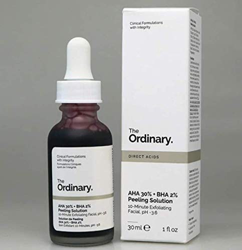 The Ordinary AHA 30% + BHA 2% Solución de pelado 30 ml