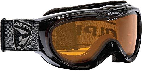 Alpina Skibrille FreeSpirit, schwarz transparent dlh (black transparent dlh), One size, A7008-131