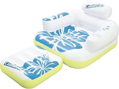 Bestway CoolerZ Schwimmsessel Tiki Time, 175 x 107 cm