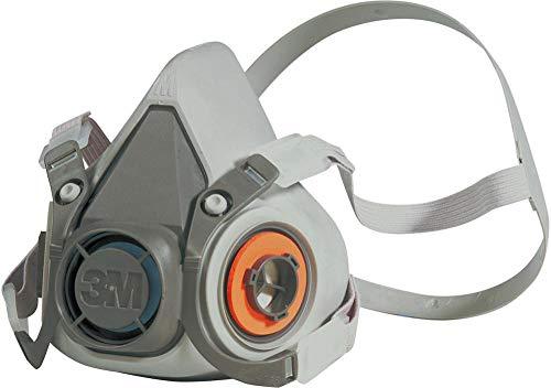 3M 6300L Respiratore a Semimaschera Riutilizzabile, Taglia Grande