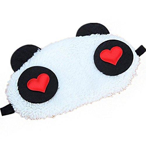 Conijiwadi 1x Belle Masque de sommeil Voyage Panda visage yeux Blindfold...