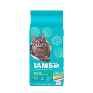 Iams Proactive Health Adult Indoor Weight & Hairball Care Dry Cat Food