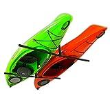 StoreYourBoard 2 Kayak Ceiling Rack, Hi Port 2 Storage Hanger Overhead Mount, Adjustable (Extra Large (30' Arms))