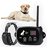New Wireless Dog Fence, Pet Containment System, Pets Dog Containment System Boundary Container with...