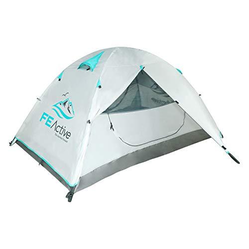 FE Active Camping Tente 2 Personnes - Tente 4 Saisons 1-2 Places de Haute...