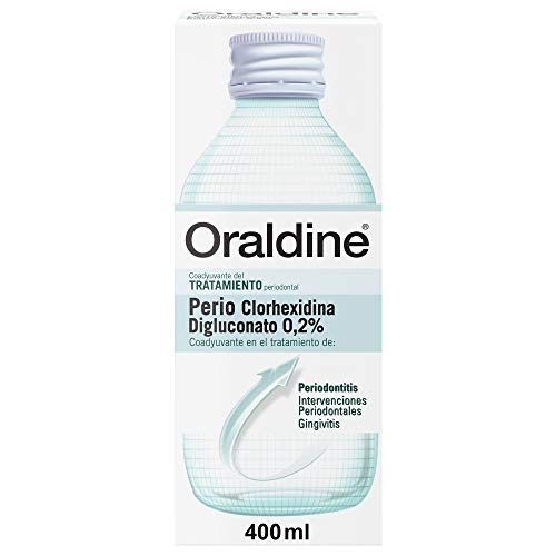 Oraldine Perio Clorhexidina 0.2%, Colutorio Antiséptico Buc