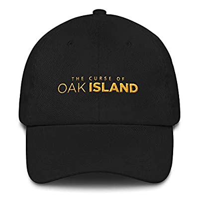 UNEARTH NEW GEAR: In this embroidered The Curse of Oak Island hat you'll be able to show you're a fan and make a fashion statement at the same time. PREMIUM QUALITY: This hat is made of brushed cotton twill and has a pre-curved bill, ready for immedi...
