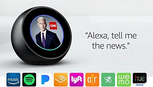 Product Image 28: Echo Spot - Smart Alarm Clock with Alexa - Black
