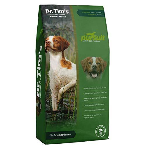 Dr. Tim's Active Dog Pursuit Premium Dry Dog Food,...