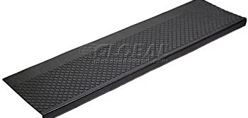 48 W Outdoor Recycled Rubber Stair Tread Black Amazon Com | 48 Inch Outdoor Stair Treads | Unfinished Pine | Nose Stair | Mat | Rubber Stair | Non Slip