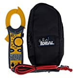 IDEAL INDUSTRIES INC. 61-744 Clamp Meter 600 Amp AC with NCV, Voltage Indicator, CATIII for 600v, Yellow