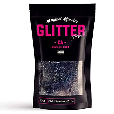 Multi-Purpose Premium Glitter ★ Premium Unique Multi-Purpose Glitter is specifically designed, quality (Grade A) for the use with Glass, Art, Nail, Floristry, Body Art, On skin usage, Hair, Face, Nails, Makeup, Flowers, Beards, Cards & much more Made...