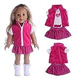 kingko Accessoire de Robe de poupée de Jouet d'accessoire de Fille de 18 Pouces pour la poupée...