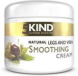 Crema natural calmante y suavizante de venas varicosas de 5Kind - Crema de tratamiento de venas...