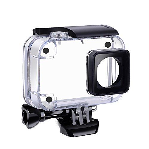 Suptig Custodia Impermeabile Subacquea Impermeabile Custodia Protettiva per Yi 4 K Azione Xiaomi 4 Xiaoyi K Yi 4 K+Yi Lite Action Cameras