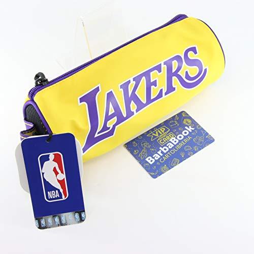 ASTUCCIO TOMBOLINO NBA LOS ANGELES LAKERS ART. 64766 + VIP CARD + PORTACHIAVI (CON TUO NOME)