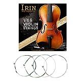 IRIN V68 Jeu de cordes professionnelles pour violon 4/4 3/4 1/2 1/4