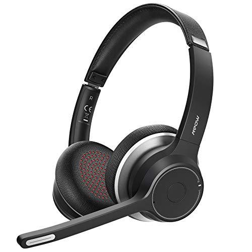 Mpow HC5 Bluetooth Headset V5.0, Wireless...