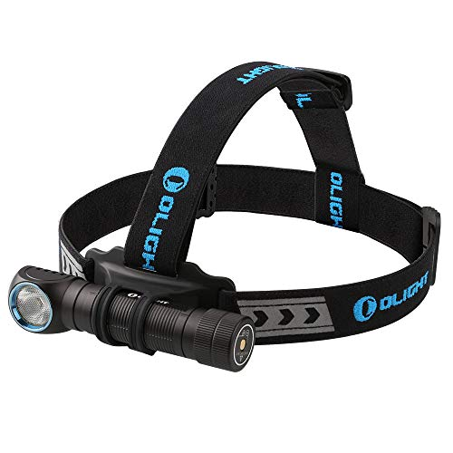 Olight® H2R NOVA Lampe Frontale LED Rechargeable Max. 2300 lumens, Batterie 18650 incluse, 5 Modes...