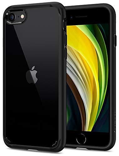Spigen Ultra Hybrid [2nd Generation] Designed for iPhone SE 2020 Case/Designed for iPhone 8 Case (2017) / Designed for iPhone 7 Case (2016) - Black