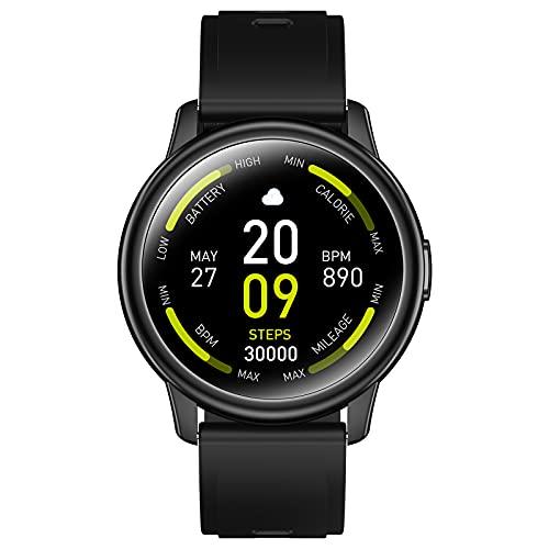Smartwatch, Reloj Inteligente Hombre con Monitor de Sueño,...