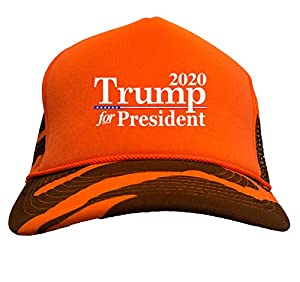 Looking for the perfect hat to show your support? Look no further! This Trump For President 2020 - MAGA Camoflauge Trucker Hat is a comfortable, affordable way to express yourself. Whether purchasing for a republican, conservative, or trump supporter...