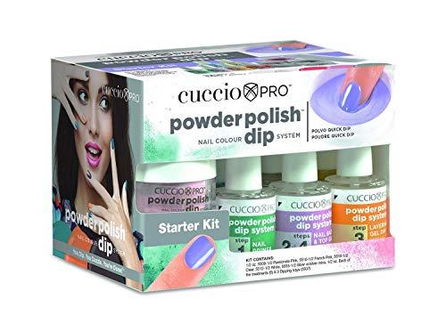 Cuccio Pro Powder Polish Dip Dipping, Starter Kit