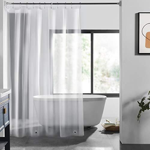 LOVTEX PEVA Shower Curtain Liner - 72x72 Light Weight 3G Clear Liner...