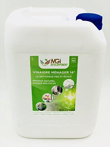 MGI DESARROLLO 10 L Vinagre blanco a 14° – Para una limpi