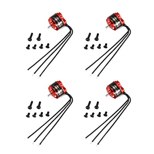 Socialism 4 Pz DXW D1104 4000KV 1-3S Mini 1.5mm Brushless Motor per 90mm Micro RC Racing Drone...