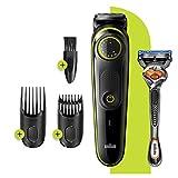 Braun BT3241 Tondeuse électrique Barbe et Cheveux, 39 Réglages De...