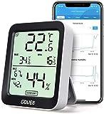 Govee Thermomètre Hygromètre Intérieur Petit Moniteur Mini Numérique à Haute...